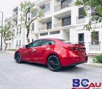 Bán xe Mazda 3 sản xuất năm 2018, màu đỏ như mới, giá tốt