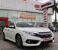 Cần bán lại xe Honda Civic 1.8AT sản xuất 2017, màu trắng