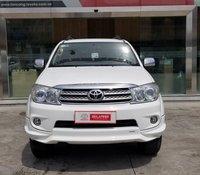 Cần bán Toyota Fortuner 2.7V 2 cầu AT 2011, màu trắng TRD - công ty XHĐ đủ - xe chất giá tốt