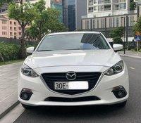 Cần bán xe Mazda 3 2017, màu trắng còn mới, giá 555tr