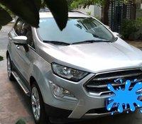 Cần bán gấp Ford EcoSport Titanium 1.5L AT đời 2018, màu bạc còn mới