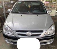 Cần bán Hyundai Getz MT sản xuất 2008, màu bạc xe gia đình