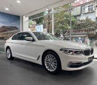 Hỗ trợ mua xe trả góp lãi suất thấp với chiếc BMW 5 Series 530i đời 2020, màu trắng, nhập khẩu