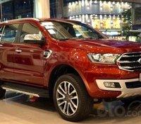 Bán xe Ford Everest 2.0 MT Ambiente đời 2020, màu đỏ, xe sẵn, giao ngay