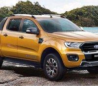 Hỗ trợ giao xe nhanh toàn quốc với chiếc Ford Ranger Wildtrak 2.0L AT, đời 2020, nhập khẩu