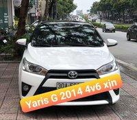 Bán Toyota Yaris đời 2014, màu trắng, xe nhập