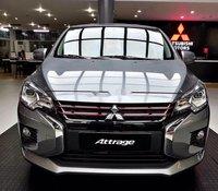 Bán Mitsubishi Attrage năm 2020, màu bạc, nhập khẩu nguyên chiếc