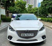 Bán Mazda 3 sản xuất năm 2015, màu trắng, giá chỉ 495 triệu