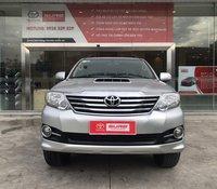 Cần bán Toyota Fortuner 2.5G MT Dầu, màu Bạc Bs tp.HCM Cá Nhân - xem xe thương lượng giá tốt