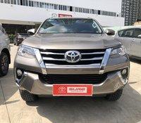 Cần bán Toyota Fortuner 2.7V 4x2 AT 2019, màu Đồng Tp.HCM gia đình đi lướt 11.000km - Xe chất giá tốt