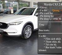 Mazda CX5 2020 máu trắng thanh toán 243 triệu giao liền Mazda Gò Vấp