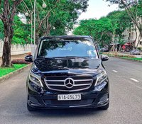 Bán Mercedes V220 2017, màu đen, nội thất kem