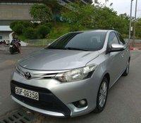 Cần bán lại xe Toyota Vios năm 2014, màu bạc, số sàn, giá 335tr