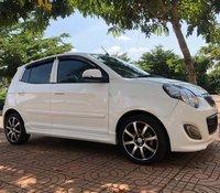 Cần bán xe Kia Morning đời 2012, màu trắng xe gia đình, giá chỉ 185 triệu
