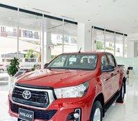 Cần bán Toyota Hilux 2.4E đời 2020, màu đỏ, số tự động, xe nhập