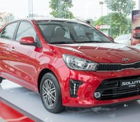 Bán xe Kia Soluto AT Deluxe đời 2020, màu đỏ giá cạnh tranh, giao xe nhanh tận nhà