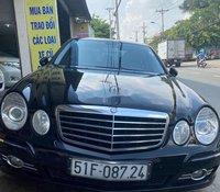 Cần bán lại xe Mercedes E200 năm 2008, màu đen giá cạnh tranh
