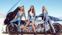3 siêu mẫu Guess bên Viper khuấy đảo cuộc đua Gumball 3000 2015