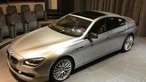 BMW 6 Series Gran Coupe giới thiệu phiên bản ngọc trai tinh tế