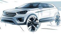 Hé hộ hình ảnh chính thức đầu tiên của Hyundai Creta