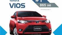 Tháng 5, Toyota Vios tiếp tục dẫn đầu thị trường ô tô Việt