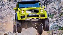 Tháng 12/2015, Mercedes G500 4x4² chính thức được sản xuất