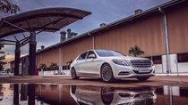 Chi tiết Mercedes-Maybach S600 sedan màu trắng vừa về Việt Nam