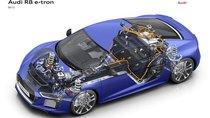 Dàn pin khủng của siêu xe điện Audi R8 e-tron mạnh như thế nào?