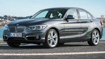 BMW 1 - Series sedan 2016 lộ hình ảnh đầu tiên