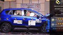 Suzuki S-Cross đạt 5 sao về mức độ an toàn