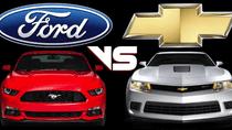 Ford Mustang lần đầu tiên vượt qua Chevrolet Camaro trên đường đua doanh số