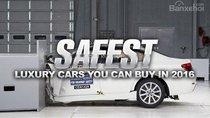 Những mẫu xe hạng sang an toàn nhất năm 2016
