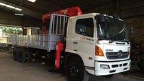 Bán xe tải Hino 3 chân gắn cẩu Unic 5 tấn. Bán xe tải Hino gắn cẩu