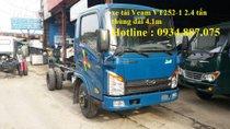 Bán xe tải Veam Hyundai VT252-1 2.4 tấn thùng dài 4.1 mét đi vào thành phố