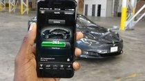 Tesla ra mắt ứng dụng 'gọi' xe trên smartphone