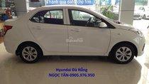 Hyundai Đà Nẵng **0905.976.950** bán xe Hyundai Grand i10 Sedan số sàn đời 2019, màu trắng, nhập khẩu CKD