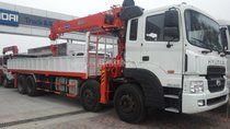 HD320 4 chân tải trọng 18 tấn, nhập khẩu nguyên chiếc chính hãng