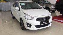 Mitsubishi Attrage, màu trắng, sx 2018, nhập khẩu nguyên chiếc giá chỉ 375 triệu. Xe có sẵn giao ngay, góp 80%