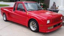 Truckstarossa: Mẫu bán tải mang logo Ferrari
