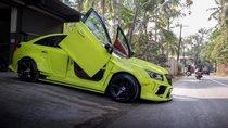 Chevrolet Cruze vàng chanh, độ cửa cánh chim như siêu xe tại Ấn Độ