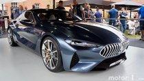 Cận cảnh BMW 8-Series 'bằng xương bằng thịt' tại Goodwood Festival 2017
