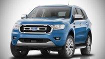 Ford Everest 2018 mới hé lộ ảnh phác họa