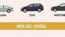 So sánh xu hướng chọn mua ô tô 2 miền Bắc-Nam