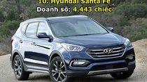 Top 10 xe bán chạy nhất thị trường Hàn Quốc trong tháng 6/2017