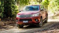 Toyota Hilux thống lĩnh bảng xếp hạng doanh số tháng 7 tại Úc