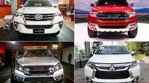 Tháng 07/2017: Người Việt tiêu thụ 1.292 xe SUV 7 chỗ