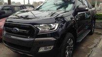 Cần bán xe Ford Ranger Wildtrak 2.0 4x2đời 2018, màu đen, nhập khẩu