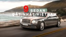 Thị trường xe sang Việt: 'Gọi tên' 9 mẫu sedan đắt nhất mỗi hãng
