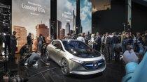 Mercedes EQA concept chạy thuần điện lần đầu ra mắt tại Frankfurt 2017