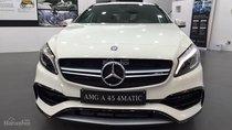 Cần bán Mercedes A45 AMG sản xuất 2018, màu trắng, nhập khẩu nguyên chiếc